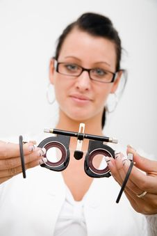 Free Beautiful Young Doctor Stock Photos - 8438393