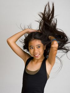 Free Flying Hair Stock Images - 8438494