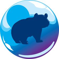 Free Animal Sphere Icon Royalty Free Stock Images - 8438619