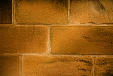Free Warm Stone Wall Stock Photo - 8438790