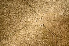 Free Cracked Grunge Concrete Royalty Free Stock Photography - 8438897