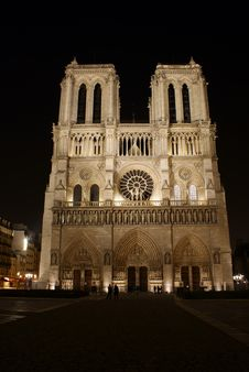 Free Notre Dame Stock Image - 8438911