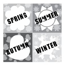 Free Four Seasons Stock Photography - 8439042
