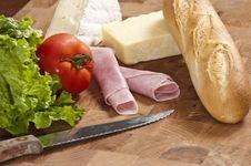 Free Sandwich Stock Photography - 8439262