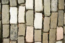 Free Cobble Stones On Old Road Stock Photos - 8439293