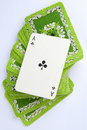 Free Ace On Deck Of Cards Royalty Free Stock Photo - 8441615