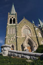 Free Stone Church Front Royalty Free Stock Images - 8444709