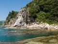 Free A Landscape On Rocky Seacoast 10 Royalty Free Stock Image - 8446156