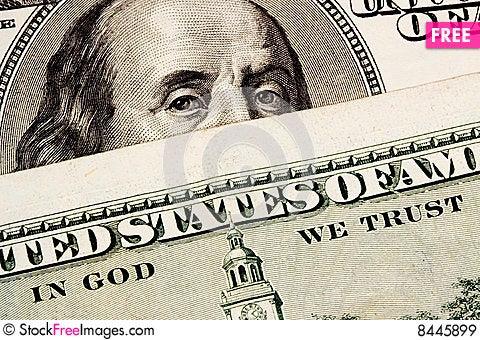 Free Benjamin Royalty Free Stock Images - 8445899