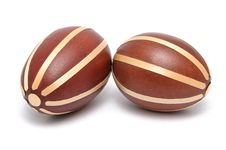 Free Pair Of Easter Eggs Royalty Free Stock Image - 8440076