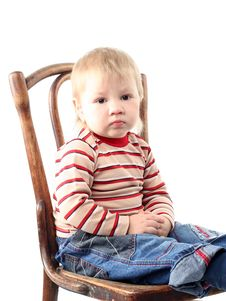 Free Little Blond Boy Royalty Free Stock Images - 8440189