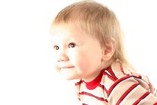 Free Little Blond Boy Stock Images - 8440274