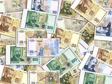 Free Bulgarian Money Mess Stock Photography - 8440452