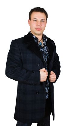 Free Sad Gentleman In Checkered Coat Royalty Free Stock Photography - 8442187