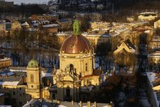 Free Church In Lvov Royalty Free Stock Image - 8442796