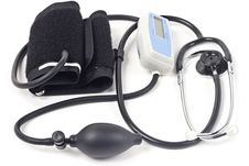 Free Stethoscope & Blood-pressure Device Royalty Free Stock Photo - 8442825