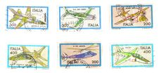 Free Stamps, Italian Airs Royalty Free Stock Photo - 8442895