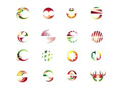 Free Set Of  Design Elements Royalty Free Stock Images - 8443179