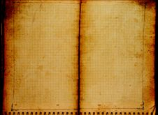 Free Old Notebook Stock Photo - 8443400