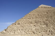 Free The Great Pyramid Of Chephren At Giza Stock Image - 8443721