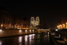 Free Paris At Night Stock Photos - 8443743