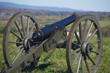 Free Civil War Canon Stock Photo - 8444600