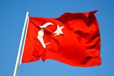 Free Turkish Flag Stock Photos - 8444843