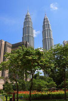 Free The Petronas Twin Towers Buildings Stock Photos - 8444863