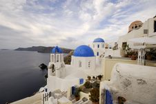 Free Famously View Of OIA Santorini Stock Image - 8445241