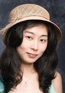 Chinese Fashion Model Royalty Free Stock Photo