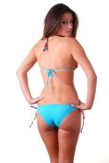 Free Woman In Swimwear Royalty Free Stock Photography - 8445887
