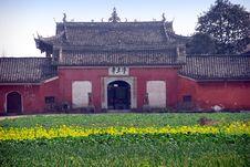 Free Pengzhou, China: Jing Tu Temple Royalty Free Stock Photo - 8446165