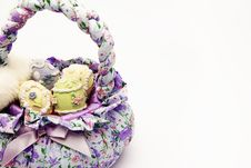 Free Basket With Eggs Royalty Free Stock Photos - 8446428