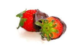 Free Strawberry Chocolate Dip Stock Photo - 8446430