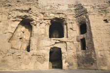 Free Yungang Caves Stock Images - 8446684