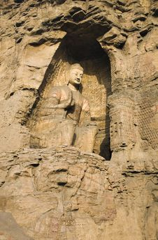 Free Yungang Caves Stock Photo - 8446690