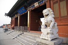 Free Chinese Temple Royalty Free Stock Photography - 8446717