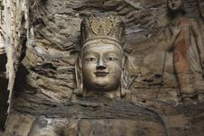 Free Yungang Caves Royalty Free Stock Photography - 8446787