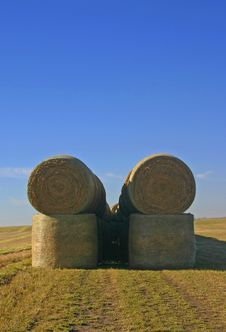 Bales Stacked Stock Images
