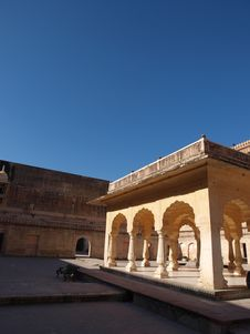 Free Imperial Harem Of Amber Fort In Jaipur, India Royalty Free Stock Image - 8447466