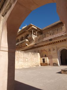 Free Imperial Harem Of Amber Fort In Jaipur, India Royalty Free Stock Photos - 8447478