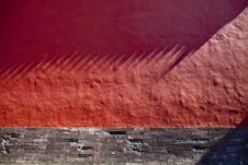 Free Red Wall Texture Royalty Free Stock Photos - 8447748
