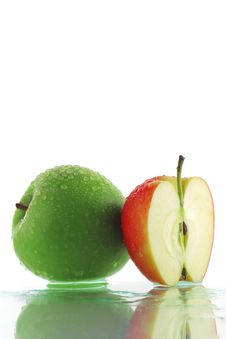 Free Green Apple Royalty Free Stock Image - 8447826