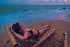 Free Sunset Lounging Royalty Free Stock Photography - 8447997