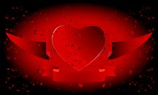 Free Collection Of Greeting Cards For Valentine S Day. Royalty Free Stock Photography - 8448107