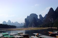 Free Guilin Landscapes Royalty Free Stock Image - 8448346