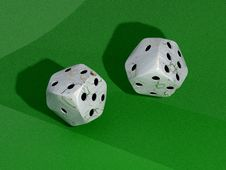 Free Dice Royalty Free Stock Photography - 8448377