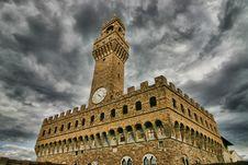 Free Palazzo Vecchio, Florence Royalty Free Stock Photos - 8448838
