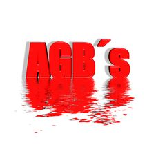 Free AGB`s Stock Image - 8448921
