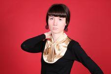 Free Portrait Of A Pretty Girl Stock Photo - 8449020